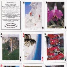 Barajas de cartas: BARAJA POKER DE VENEZUELA. Lote 225740605