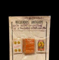 Barajas de cartas: NAIPES LILIPUT EN CARTONÉ DE H. FOURNIER-VITORIA 1940. Lote 225800386