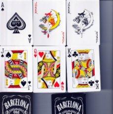 Barajas de cartas: BARAJA POKER BARCELONA OLD Nº 1 CITY. Lote 225996321