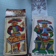 Barajas de cartas: TAROT ESPAÑOL FORUNIER. Lote 226078265