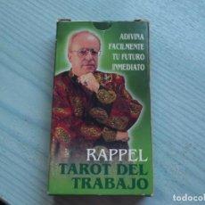 Barajas de cartas: TAROT FORUNIER,RAPPEL TAROT DEL TRABAJO. Lote 226078810