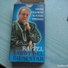 Barajas de cartas: TAROT FORUNIER,RAPPEL TAROT DEL BIENESTAR. Lote 226079150