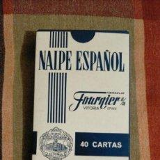 Barajas de cartas: BARAJA DE NAIPE ESPAÑOL FOURNIER S. A., EDICIÓN BANCO DE FOMENTO, 9.5 X 6.5 X 01. Lote 226114125