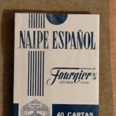 Barajas de cartas: BARAJA DE NAIPE ESPAÑOL FOURNIER S. A., EDICIÓN BANCO DE FOMENTO, 9.5 X 6.5 X 01. Lote 226116395