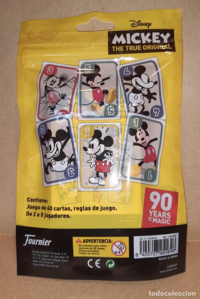 Barajas de cartas: BARAJA DE CARTAS - MIKEY MOUSE 90 ANIVERSARIO - HERACLIO FOURNIER - Foto 2 - 226214830