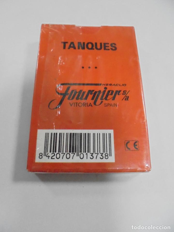 Barajas de cartas: BARAJA DE CARTAS. FOURNIER. TANQUES. SIN ABRIR - Foto 2 - 226259280