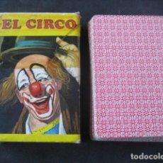 Jeux de cartes: BARAJA INFANTIL FOURNIER. EL CIRCO. Lote 226281215