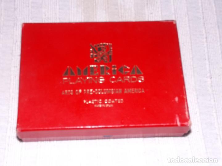 BARAJA DE POKER, AMERICA PRECOLOMBINA, DIBUJOS Y DESCRIPCION T.N.MICIANO (Juguetes y Juegos - Cartas y Naipes - Barajas de Póker)