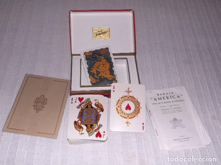 Barajas de cartas: BARAJA DE POKER, AMERICA PRECOLOMBINA, DIBUJOS Y DESCRIPCION T.N.MICIANO - Foto 2 - 226386615