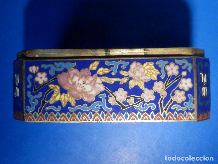 Barajas de cartas: Preciosa caja metálica para Baraja de Cartas - Esmaltada al horno por dentro y fuera - Muy bonita - Foto 10 - 226395790