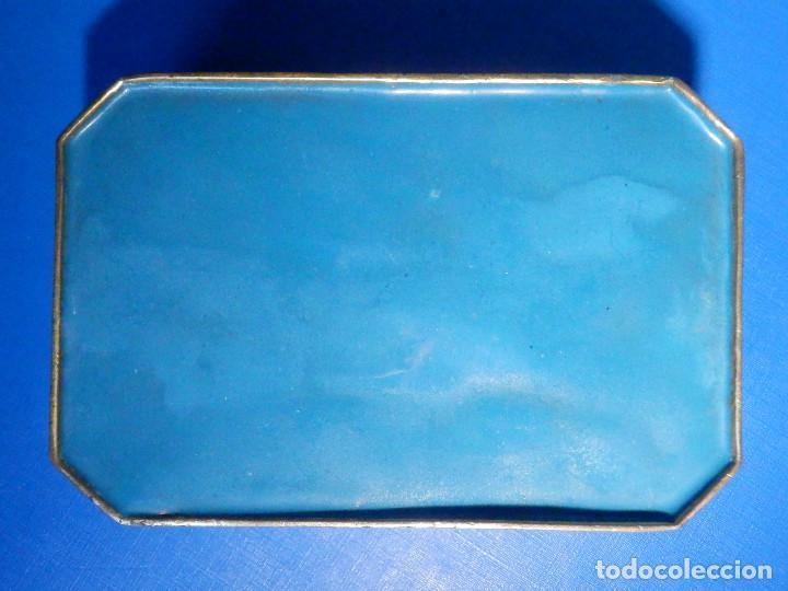 Barajas de cartas: Preciosa caja metálica para Baraja de Cartas - Esmaltada al horno por dentro y fuera - Muy bonita - Foto 11 - 226395790