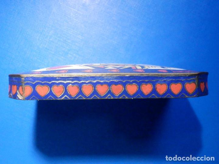 Barajas de cartas: Preciosa caja metálica para Baraja de Cartas - Esmaltada al horno por dentro y fuera - Muy bonita - Foto 13 - 226395790