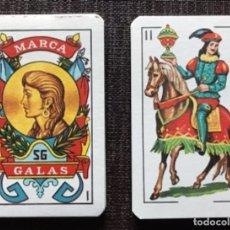 Jeux de cartes: MEX 87 BARAJA DE CARTAS MARCA GALAS AÑOS 70' TABACO DELICADOS MEXICO TIPO ESPAÑOLA NAIPE. Lote 226412640