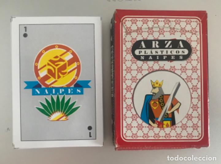 MEX 88 BARAJA ARZA PLÁSTICOS ESPAÑOL 40 NAIPES MEXICO (Juguetes y Juegos - Cartas y Naipes - Baraja Española)