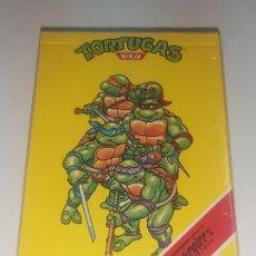 Mazzi di carte: BARAJA HERACLIO FOURNIER * TORTUGAS NINJA* AÑO 1991 - NUEVA SIN USO, PRECINTADA Y PERFECTA!!. Lote 226479814