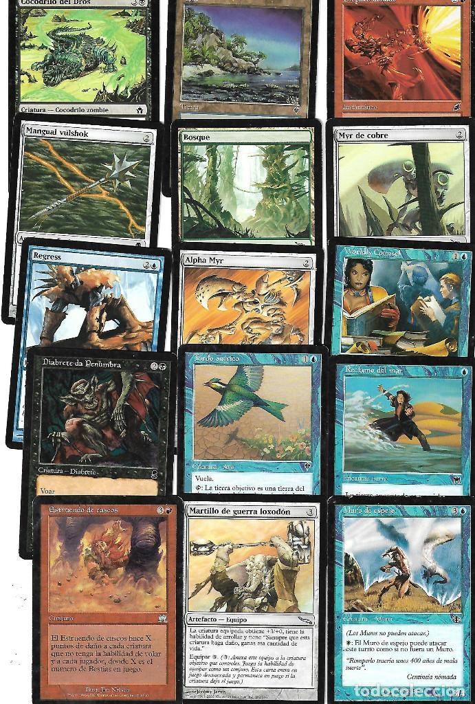 Barajas de cartas: OPORTUNIDAD 100 CARTAS MAGIC DISTINTAS LOTE 1 - Foto 2 - 20062509