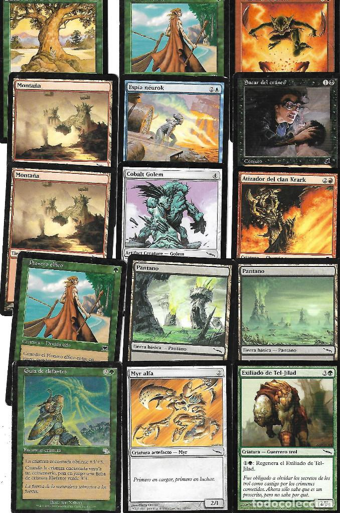 Barajas de cartas: OPORTUNIDAD 100 CARTAS MAGIC DISTINTAS LOTE 1 - Foto 4 - 20062509