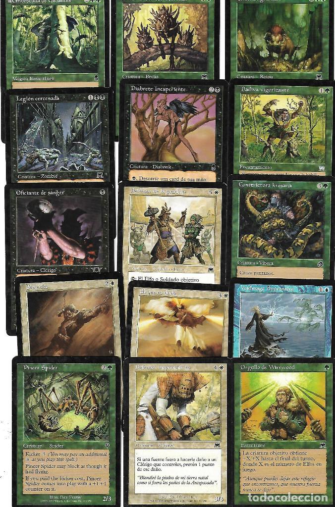 Barajas de cartas: OPORTUNIDAD 100 CARTAS MAGIC DISTINTAS LOTE 1 - Foto 5 - 20062509