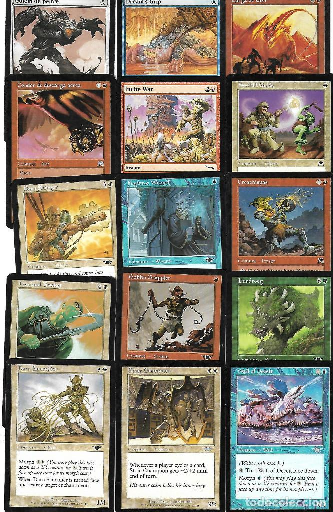 Barajas de cartas: OPORTUNIDAD 100 CARTAS MAGIC DISTINTAS LOTE 1 - Foto 6 - 20062509