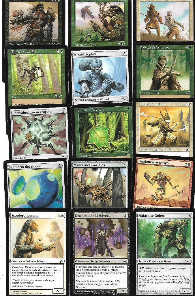 Barajas de cartas: OPORTUNIDAD 100 CARTAS MAGIC DISTINTAS LOTE 1 - Foto 7 - 20062509