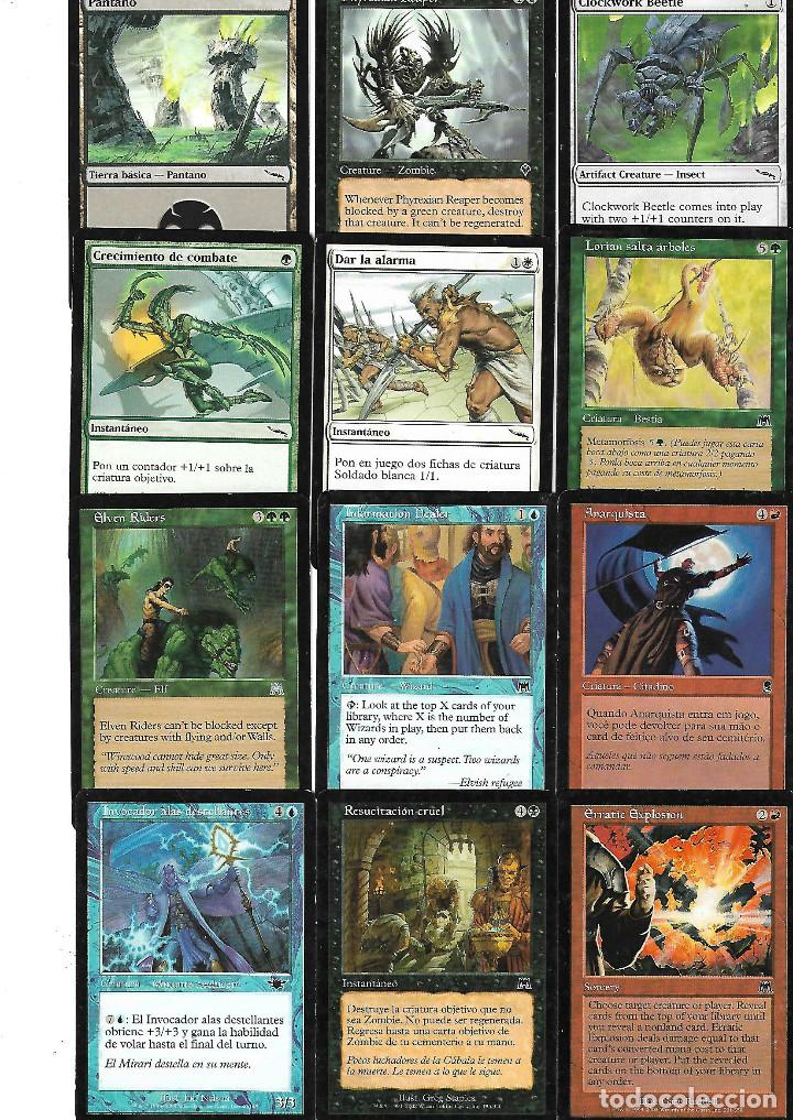 Barajas de cartas: OPORTUNIDAD 100 CARTAS MAGIC DISTINTAS LOTE 1 - Foto 8 - 20062509