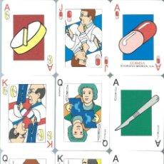 Barajas de cartas: BARAJA ESPAÑOLA DE MEDICOS-AÑOS 90. Lote 226674370