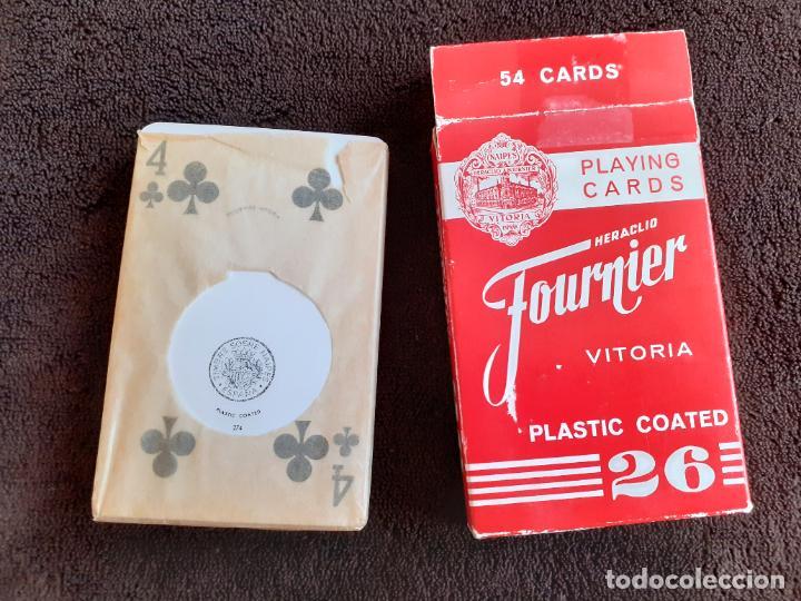 Barajas de cartas: BARAJA DE CARTAS. 26. FOURNIER. 54 CARTAS. - Foto 15 - 226744590