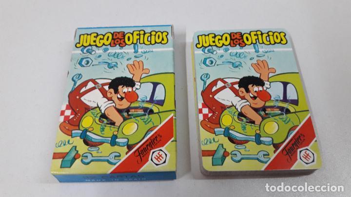 Barajas de cartas: BARAJA INFANTIL EL JUEGO DE LOS OFICICIOS . REALIZADA POR FOURNIER . ORIGINAL AÑOS 80 . SIN USO - Foto 5 - 226776974