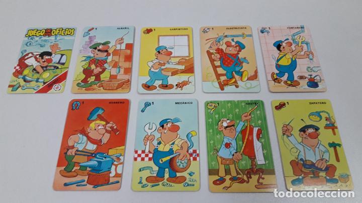 Barajas de cartas: BARAJA INFANTIL EL JUEGO DE LOS OFICICIOS . REALIZADA POR FOURNIER . ORIGINAL AÑOS 80 . SIN USO - Foto 6 - 226776974