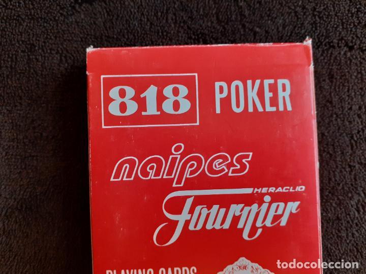 Barajas de cartas: BARAJA DE CARTAS. 818. POKER. GIGANTE.FOURNIER. 55 CARTAS. - Foto 3 - 226778810