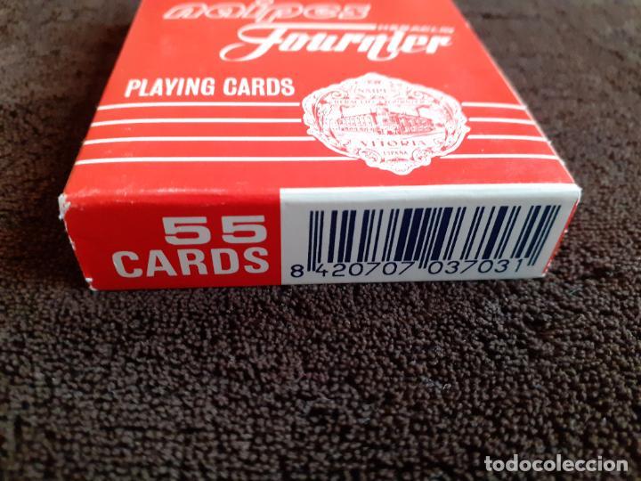 Barajas de cartas: BARAJA DE CARTAS. 818. POKER. GIGANTE.FOURNIER. 55 CARTAS. - Foto 4 - 226778810
