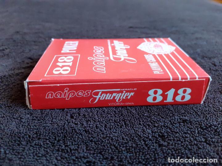 Barajas de cartas: BARAJA DE CARTAS. 818. POKER. GIGANTE.FOURNIER. 55 CARTAS. - Foto 6 - 226778810
