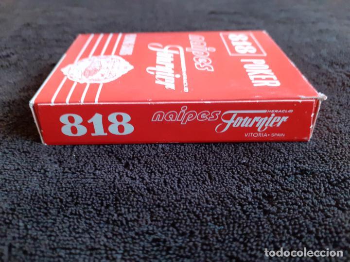 Barajas de cartas: BARAJA DE CARTAS. 818. POKER. GIGANTE.FOURNIER. 55 CARTAS. - Foto 7 - 226778810
