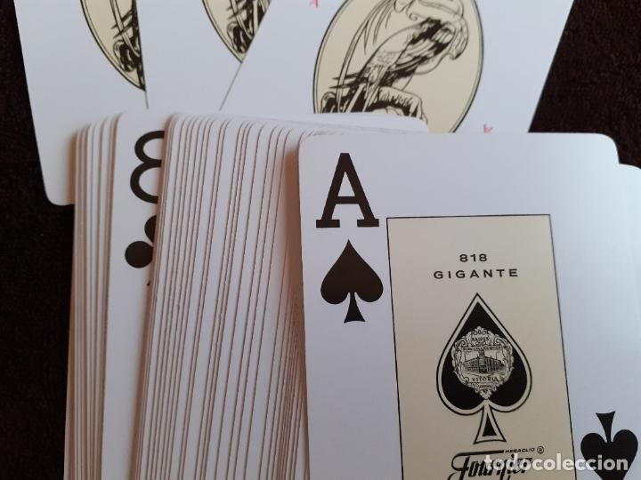Barajas de cartas: BARAJA DE CARTAS. 818. POKER. GIGANTE.FOURNIER. 55 CARTAS. - Foto 12 - 226778810
