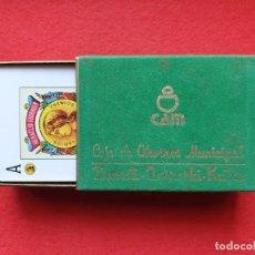 Barajas de cartas: BARAJA ESPAÑOLA HERACLIO FOURNIER 1961 CAJA DE AHORROS MUNICIPAL SAN SEBASTIAN NAIPES ANTIGUOS. Lote 226847655