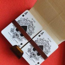 Barajas de cartas: ESTUCHE 2 BARAJAS POKER HERACLIO FOURNIER Nº 510 NAIPES ANTIGUOS. Lote 226852980