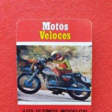 Jeux de cartes: BARAJA MOTOS VELOCES FOURNIER 1976 COMPLETA. Lote 226860110