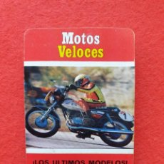 Baralhos de cartas: BARAJA MOTOS VELOCES FOURNIER 1976 COMPLETA. Lote 226860110