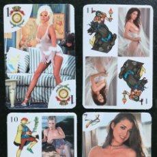 Barajas de cartas: MEX 205 BARAJA ESPAÑOLA EROTICA NAIPES MEXICO. Lote 226860935