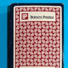 Barajas de cartas: BARAJA DE NAIPES BANCO PASTOR.. Lote 226886730