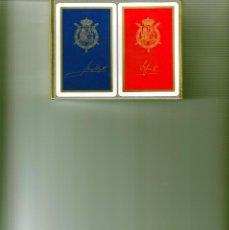 Barajas de cartas: BARAJAS POKER CASA REAL ESPAÑOLA. Lote 227095580