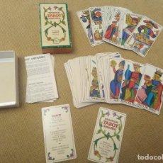 Barajas de cartas: CARTAS TAROT FOURNIER. Lote 227578955