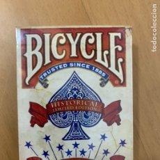 Baralhos de cartas: BICYCLE AMERICANA EDICIÓN LIMITADA ROJA. NAIPES. Lote 227652535