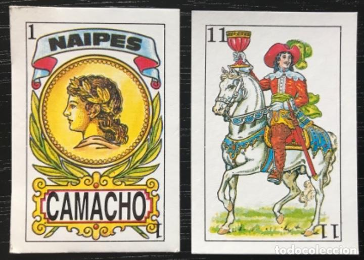 MEX 267 BARAJA NAIPE CAMACHO. MINI MÉXICO. 40 NAIPES COMPLETA. (Juguetes y Juegos - Cartas y Naipes - Baraja Española)