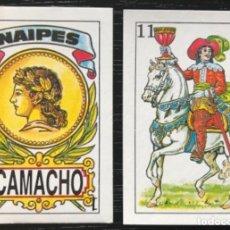 Barajas de cartas: MEX 267 BARAJA NAIPE CAMACHO. MINI MÉXICO. 40 NAIPES COMPLETA.. Lote 236072820