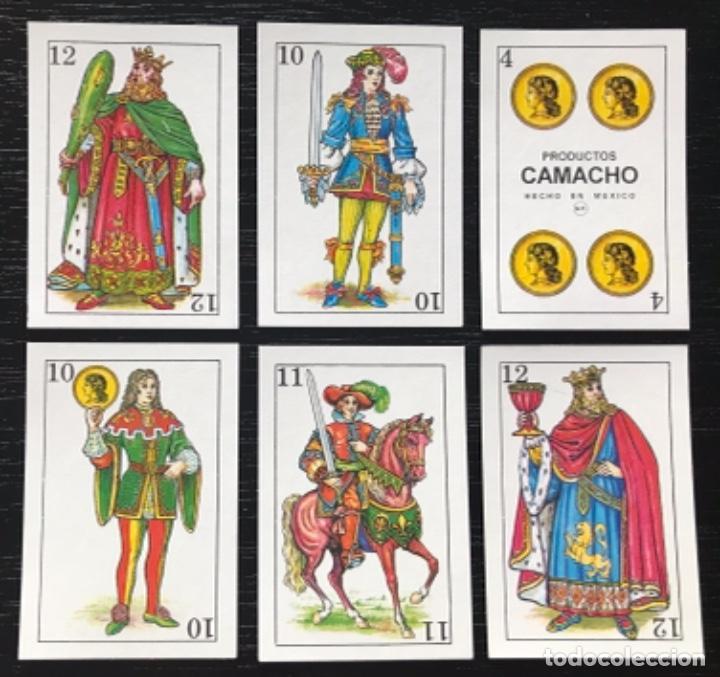 Barajas de cartas: MEX 267 Baraja Naipe Camacho. Mini México. 40 naipes completa. - Foto 2 - 236072820