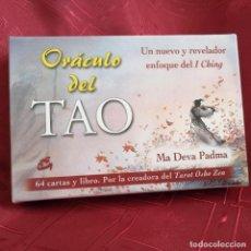 Jeux de cartes: ORÁCULO DEL TAO: UN NUEVO Y REVELADOR ENFOQUE DEL I CHING MA DEVA PADMA. Lote 228070285