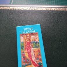 Barajas de cartas: BARAJA DE TAROT 'DE CRISTAL' COLECCIÓN RBA. Lote 228202635