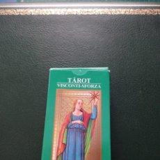 Barajas de cartas: BARAJA DE TAROT 'VISCONTI-SFORZA' COLECCIÓN RBA. Lote 228204122