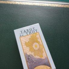Barajas de cartas: BARAJA DE TAROT 'DE THOT' COLECCIÓN RBA. Lote 228204225